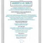 thumbnail of 2015-2019 Akkreditálási okirat