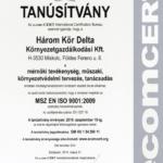 thumbnail of ISO 9001 tanúsítvány 2016-2018